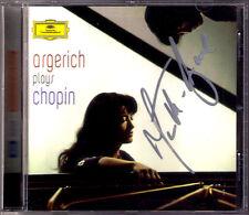 Martha ARGERICH Signiert CHOPIN Radio Recordings Sonata No.3 Ballade Mazurkas CD