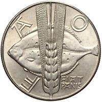 Polen - Gedenkmünze - 10 Zlotych 1971 - FAO FIAT PANIS - Fisch Flunder