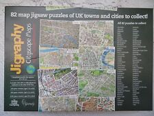 BRISTOL - JIGRAPHY CITYSCAPE MAP JIGSAW PUZZLE 1000 pieces