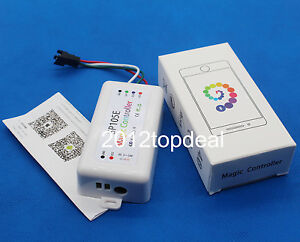 SP105E Magic Controller 2048 Pixels Support IOS & Android OS APP ws2812b/ws2811