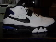 SINGLE SHOE ONLY Nike Air Force Max Charles Barkley White Black Cobalt Size 8