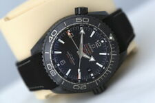 Omega Seamaster Planet Ocean Deep Black GMT Automatic Co-Axial Watch
