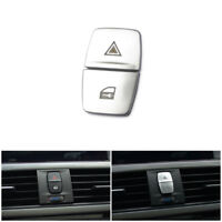 2*Control Warning Light Switch Locking Button Cover Trim For BMW 1 3 Series F30