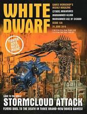 White Dwarf Games Workshop Weekly Magazine Issue 126 25 June 2016