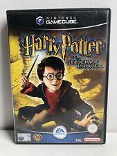 "GAMECUBE NINTENDO HARRY POTTER ""EN DE GEHEIME KAMER"" PAL DUTCH COVER & MANUAL"
