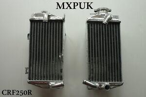 CRF250R RADIATORS PERFORMANCE MXPUK 2014 2015 2016 CRF 250 Radiator 2017 (012)