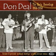 DON DEAL The Early Recordings CD - NEW - rare 1950s rockabilly - Eddie Cochran