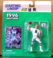1996 Troy Aikman Cowboys White Variety mint on card