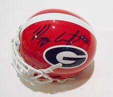 Reggie Carter Signed Georgia Bulldogs Mini Helmet w/COA