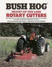Farm Equipment Brochure - Bush Hog - Rotary Cutters (F1756)