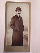 Vienna - 1905-Mr Friedrich Durr in Coat with Hat-Portrait/KAB