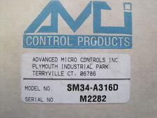 New Advanced Micro Controls Sm34 A316d Stepper Motor