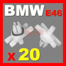 BMW E46 ROOF TRIM CLIPS MOULDING STRIP TOP DOOR LEDGE RAIN GUTTER 3 series X20