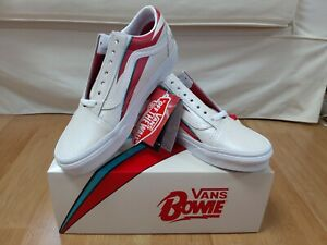 Vans David Bowie Aladdin Sane Old Skool shoe Limited Edition US M 5.5-12 In Hand