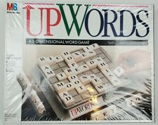 UpWords BoardGame Milton Bradley Factory Sealed Family Fun 10 years and up