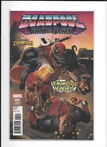 Deadpool Back in Black #1 1:10 Venompool Variant ASM 316 Homage