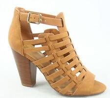 Women's Open Toe Chucky High Heel Ankle Strap Bootie Sandal Size 5.5 - 11 NEW