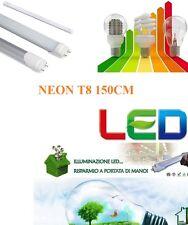 Neon led tubo led T8 illuminazione 150cm plafoniere per tubo compreso 2500 LUMEN