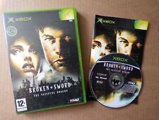 Microsoft XBOX Broken Sword The Sleeping Dragon (2003) Game - Complete, THQ