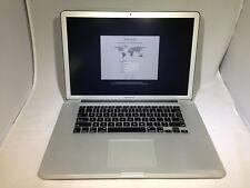 MacBook Pro 15 Mid 2012 MD104LL/A 2.6GHz i7 16GB 250GB SSD Fair Condition