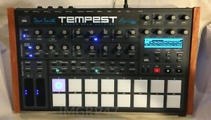 dave smith instruments tempest analog drum machine/synthesizer with rugged case
