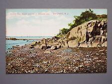 R&L Postcard: Rocky Shore of Newark Bay Bayonne New Jersey USA, John Voigt