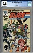 G.I. Joe Order of Battle #2 CGC 9.8 NM/MT WHITE PAGES