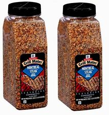 2pk McCormick Grill Mates MONTREAL STEAK SEASONING 29oz each- 58 Oz Total