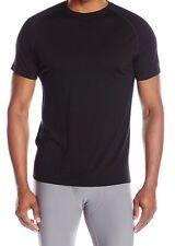 Woolrich Mens Short Sleeve Black Merino Wool T-Shirt (Underwear) - Large - NWT