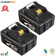 2x Batterie pour Makita BL1840 BL1850 BL1860 18V 5Ah Chargeur DC18RA RC Replace