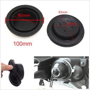 2 Pcs Black Rubber Car LED HID Headlights Retrofit Re-seal Seal Cap Dust Covers