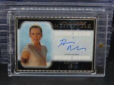 2020 Topps Star Wars Masterwork Rey Daisy Ridley Silver Framed Auto #5/5 R90