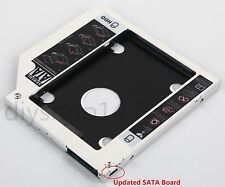 SATA 2nd HDD SSD Hard Drive Caddy for ASUS R510 R510CC R510VC R513 DA-8A5SH DVD