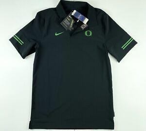 Nike Oregon Ducks Official On Field Polo Shirt CQ5287-010 Small $80