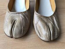 Maison Martin Margiela Distressed Leather Escarpins 38.5 Tabi