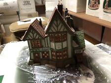 Dept 56 Heritage Dickens Village Hembleton Pewterer #5800-9 Christmas