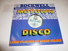 "ROCKWELL - Somebody's Watching Me - 1983 UK 2-track 12"" vinyl single"
