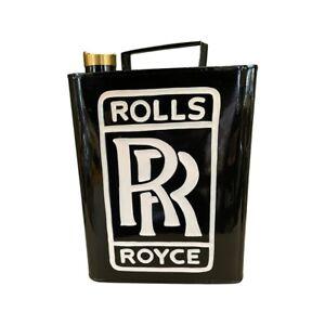 Rolls Royce Petrol Can / RR Oil Can Display Automobilia Classic Car Garage