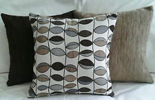 "*3 x Scatter/Throw cushion covers,Qualiy-Aussie made Brown`s -   50x50cm/20""x20"""