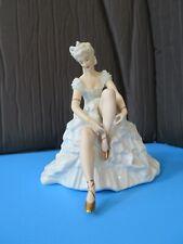"""Vintage Schaubach Kunst 8 3/4"""" Ballerina Figurine - Mint Condition"""