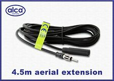 Quality car aerial antenna extension lead cabel AM FM 4.5 meter long radio FM