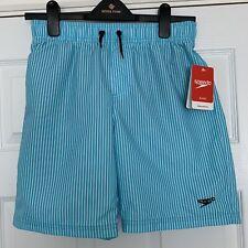 "Boys Speedo Swim Shorts Junior Size Large 28"" 10-11 Years Waist Turquoise BNWT"