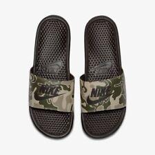 59b79a99c45c MENS NIKE Benassi Just Do it Print Sandals Slippers SIZE 8 EUR 43 (631261-