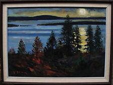 Yo Johansson 1897-1963, Nordischer Sommermorgen, um 1950