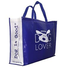 Dog Is Good Reusable Shopping Bag - DIG Tote Bag - Carry On - Beach Bag