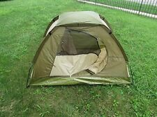 Exxel Indoor Outdoor 4' x 3' One Person Dome Youth Tent Combo w/Sleeping Bag