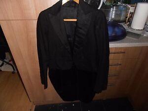 "Lovely Edwardian White Tie Evening Dress Tailcoat size 36"""