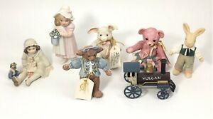Jan Hagara Collectibles Miniature Figurines Lot of 7