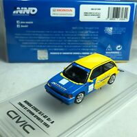1/64 INNO64 Honda Civic Si E-AT Gr.A Tuned by Spoon Sport 1985 IN64-EAT-SP85