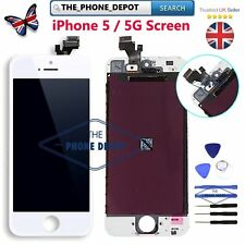 For iPhone 5 LCD Front Display Screen Digitizer Assembly Premium Quality White